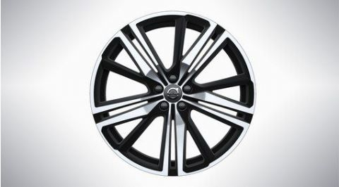"XC60 21"" 5-Triple Spoke MattBlack Diamond Cut Alloy Wheel"